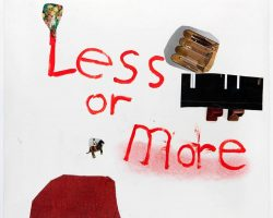 Less or more